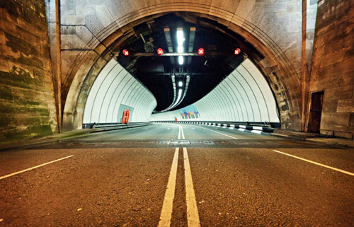 Le tunnel Mersey